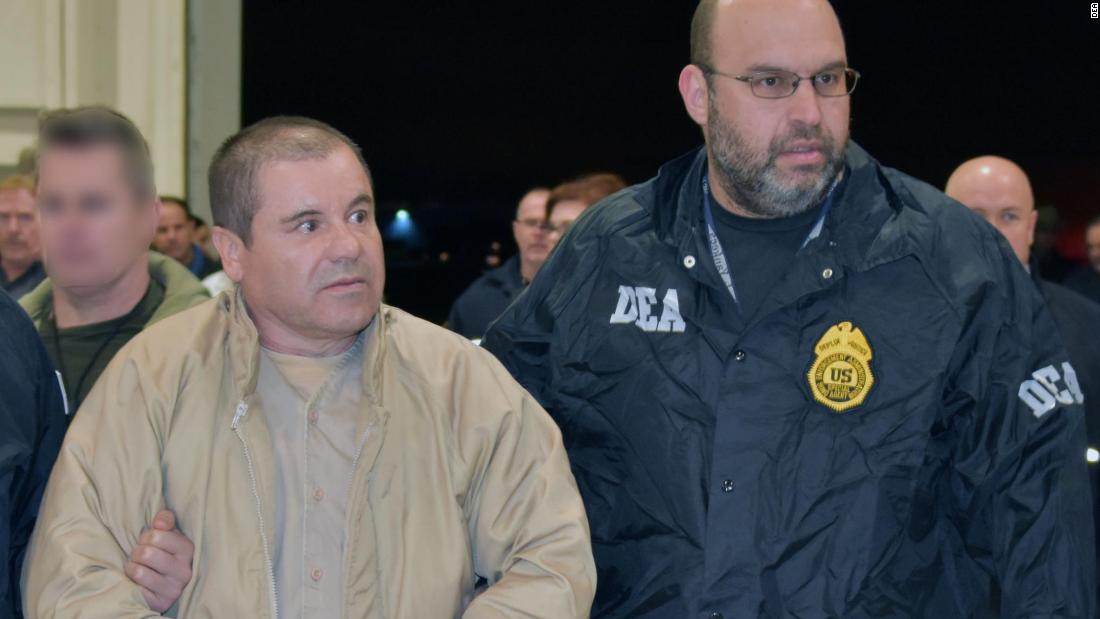 El Chapo's sentencing may be the last time the public ever sees him