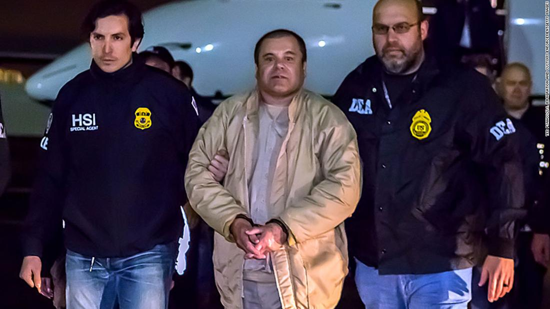 'El Chapo' sentenced to life in prison