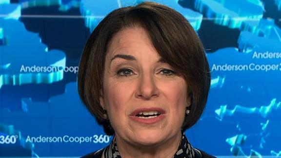 Sen. Amy Klobuchar (D-MN) on AC 360 2/12.