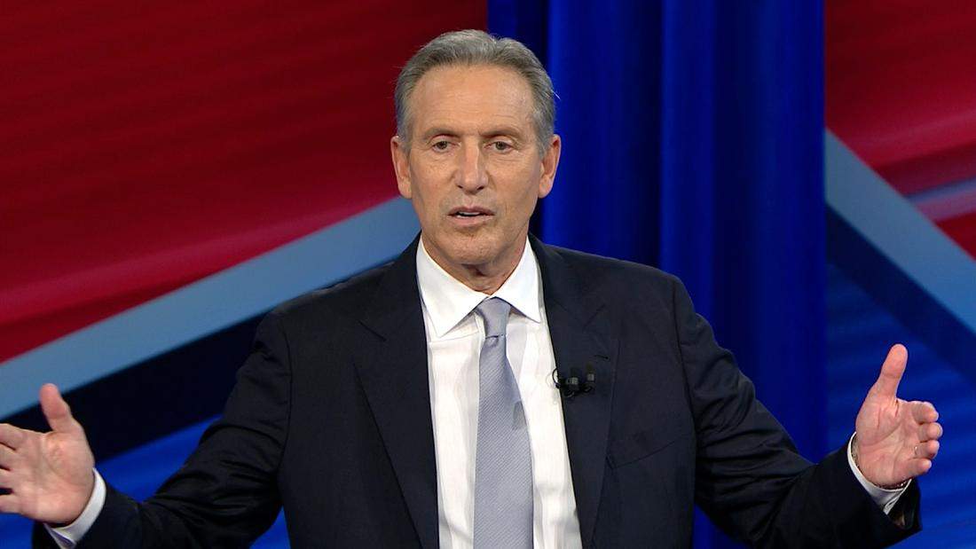 Howard Schultz: Americans need more opportunities