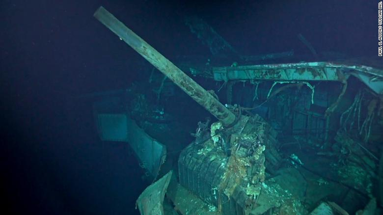 WWII US aircraft carrier found in South Pacific