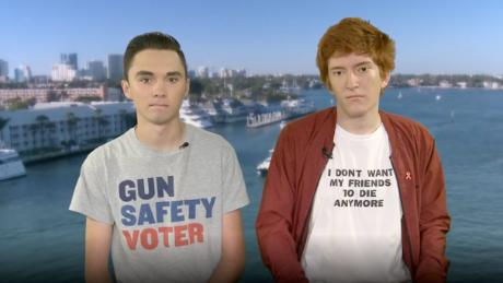 David Hogg and Ryan Deitsch both say they plan to continue their advocacy for gun control.