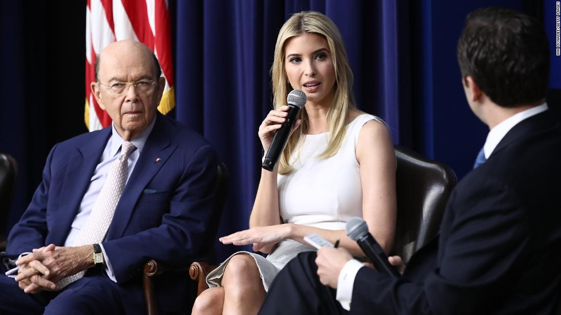 What does Ivanka Trump do?