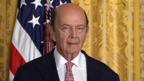 WASHINGTON, DC - JUNE 18:  U.S. Secretary of Commerce Wilbur Ross attends a meeting of the National Space Council at the East Room of the White House June 18, 2018 in Washington, DC. President Donald Trump signed an executive order to establish the Space Force, an independent and co-equal military branch, as the sixth branch of the U.S. armed forces.  (Photo by Alex Wong/Getty Images)