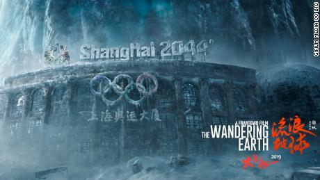 "Shanghai and Beijing are destroyed for the first time in modern Chinese cinema in ""The Wandering Earth."""