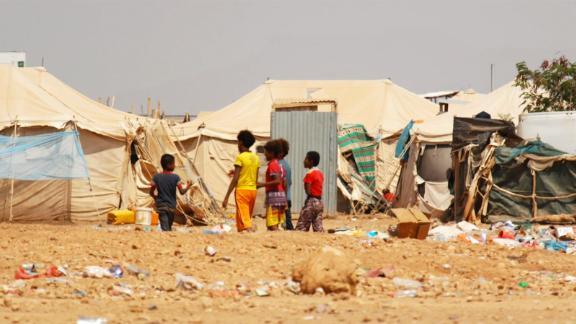The Markazi Refugee Camp in Djibouti.