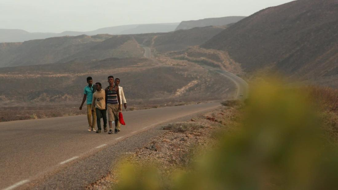 The Ethiopian migrants crossing Yemen's war to find a better life