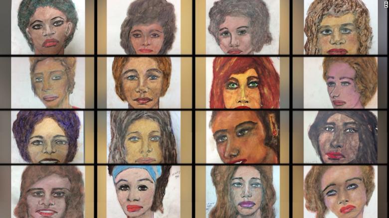 FBI: Serial killer drew portraits of alleged victims