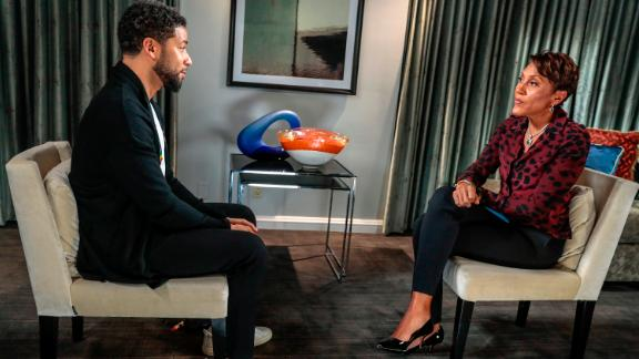 Robin Roberts interview with actor Jussie Smollett airs Thursday, February 14, 2019 on ABC