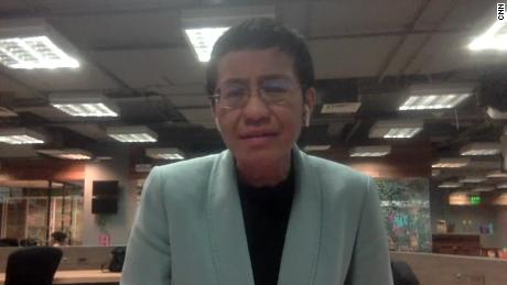 Maria Ressa: I feel like my rights have been violated