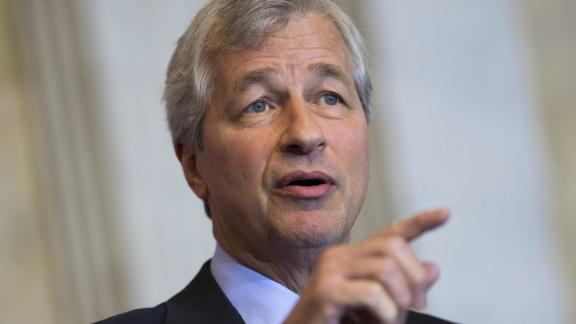 Jamie Dimon, Chairman and CEO of JPMorgan Chase, participates in the Financial Inclusion Forum at the Treasury Department in Washington, DC, December 1, 2015. AFP PHOTO / SAUL LOEB / AFP / SAUL LOEB        (Photo credit should read SAUL LOEB/AFP/Getty Images)