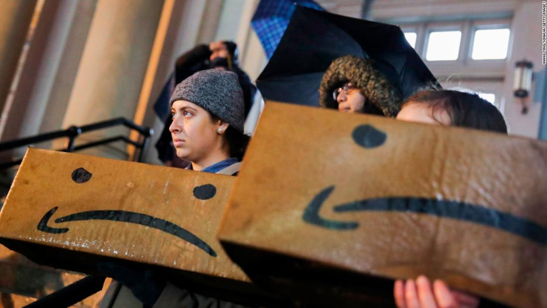 Amazon cancels plans to build New York headquarters