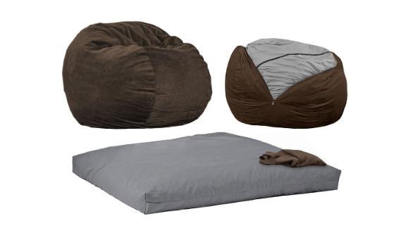 Best Air Mattresses And Bedding, Bean Bag Queen Bed