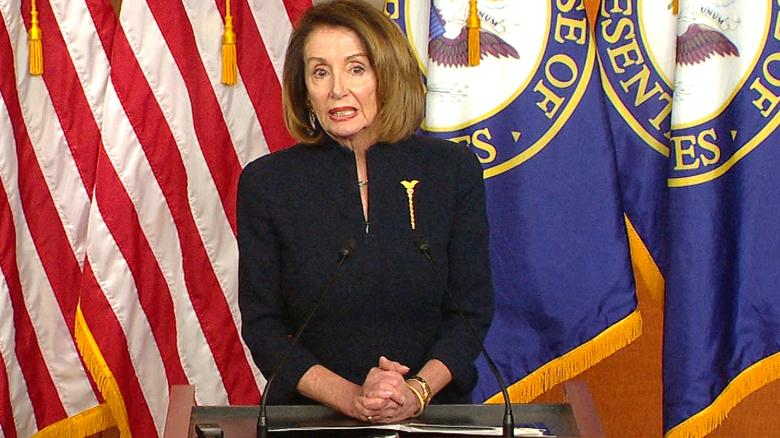 Image result for Pelosi urges members to back resolution terminating national emergency