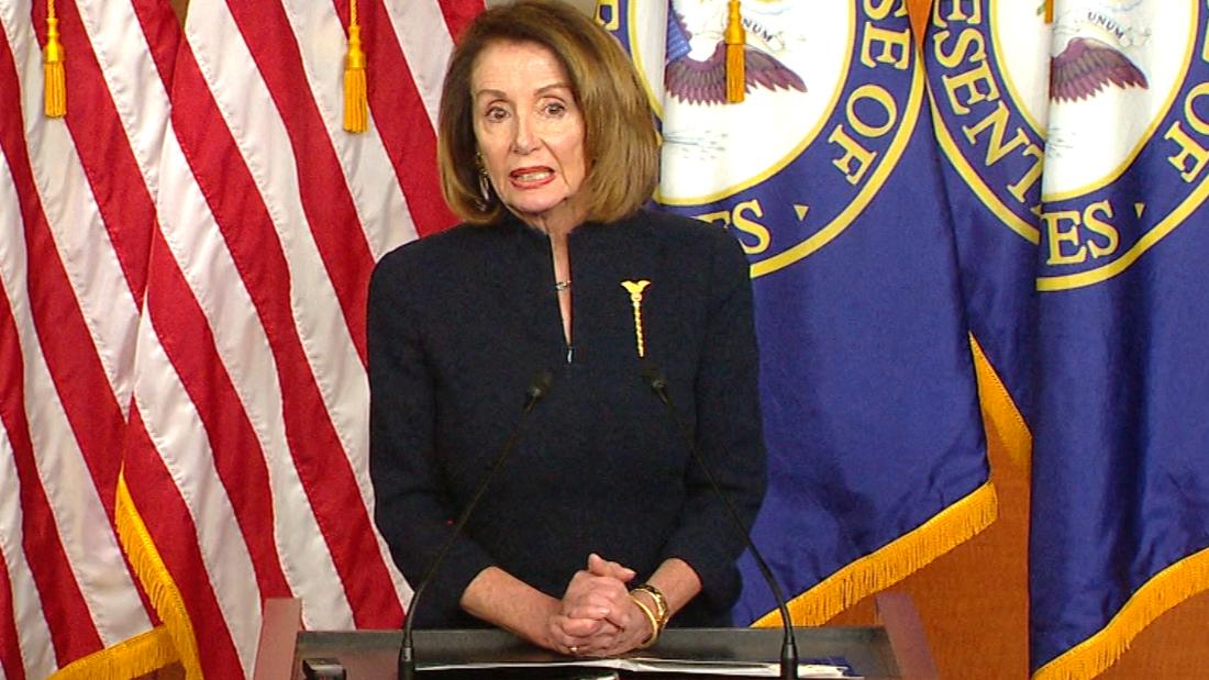 Pelosi urges members to back resolution terminating national emergency