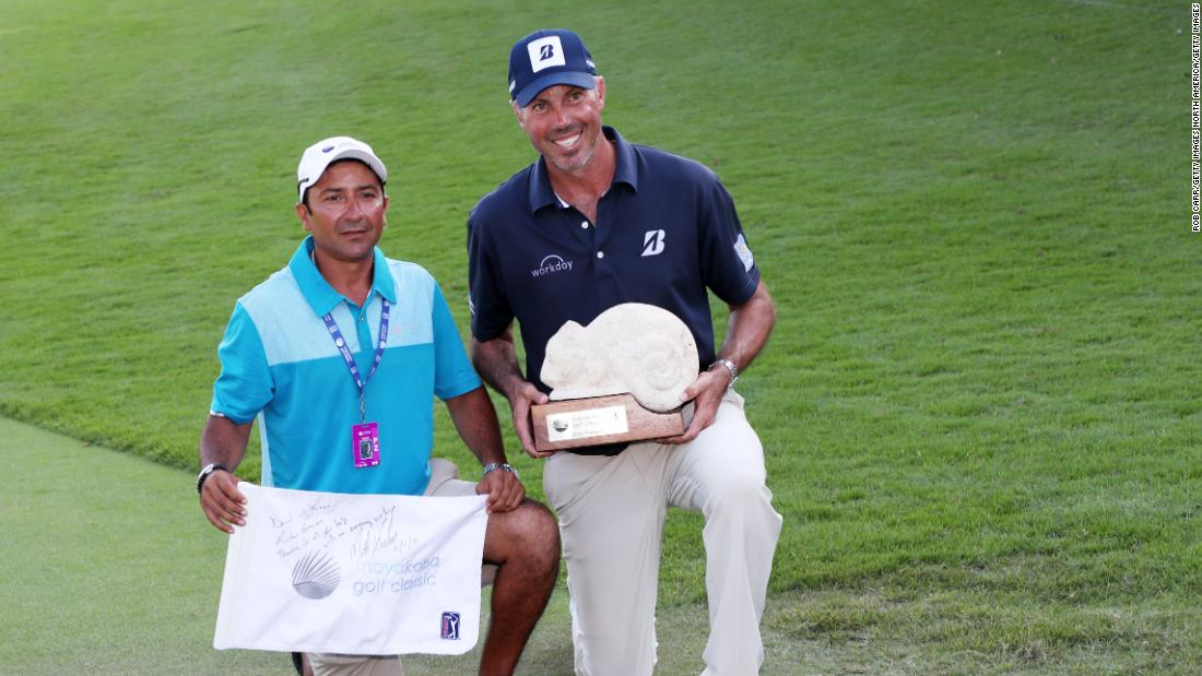 Matt Kuchar says he'll apologize to caddie and pay remainder of the $50,000 he requested