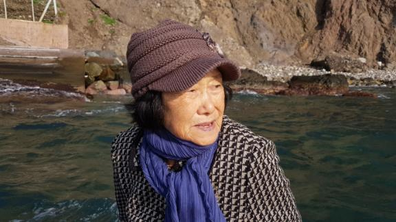 Kim Sin-yeol, the sole surviving resident of the disputed islands of Dokdo, in the Sea of Japan, known to Koreans as the East Sea.