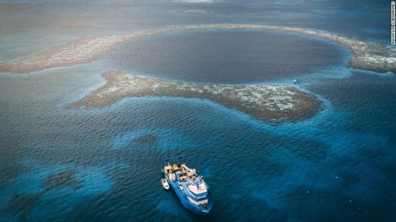 Dispatches from the bottom of Belize's Blue Hole