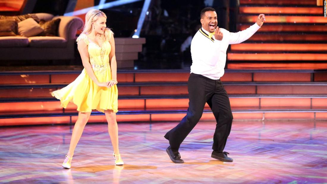 'Fresh Prince' star Alfonso Ribeiro flaunted his classic moves on 'Strictly Come Dancing'