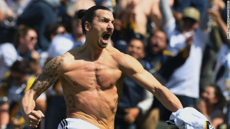 Ibrahimovic's debut goal made him an instant star at the LA Galaxy, a club with a history of huge names.