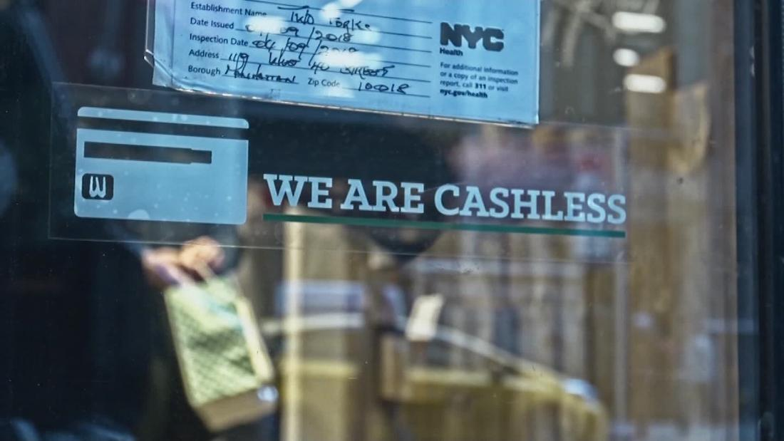 Retailers want to go cashless. But opponents say that's discriminatory