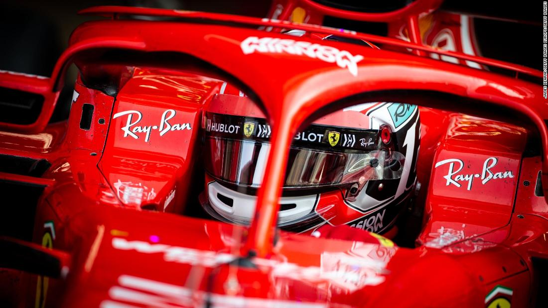 Charles Leclerc Ferrari Give Youth A Chance With Rising Star Of F1 Cnn
