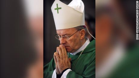 Archbishop Luigi Ventura has been based in Paris since 2009, serving as a diplomat to Pope Francis.