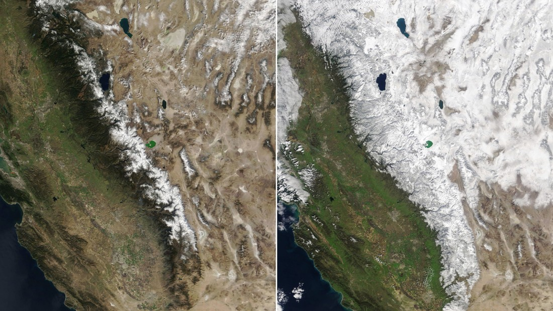 Atmospheric rivers are pulling California out of drought