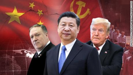 Thanks to the wall, Xi Jinping's global dream showed a growing collision with China
