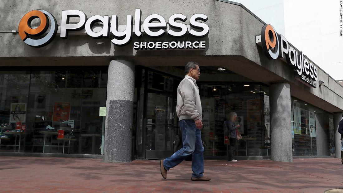 Payless is closing up shop