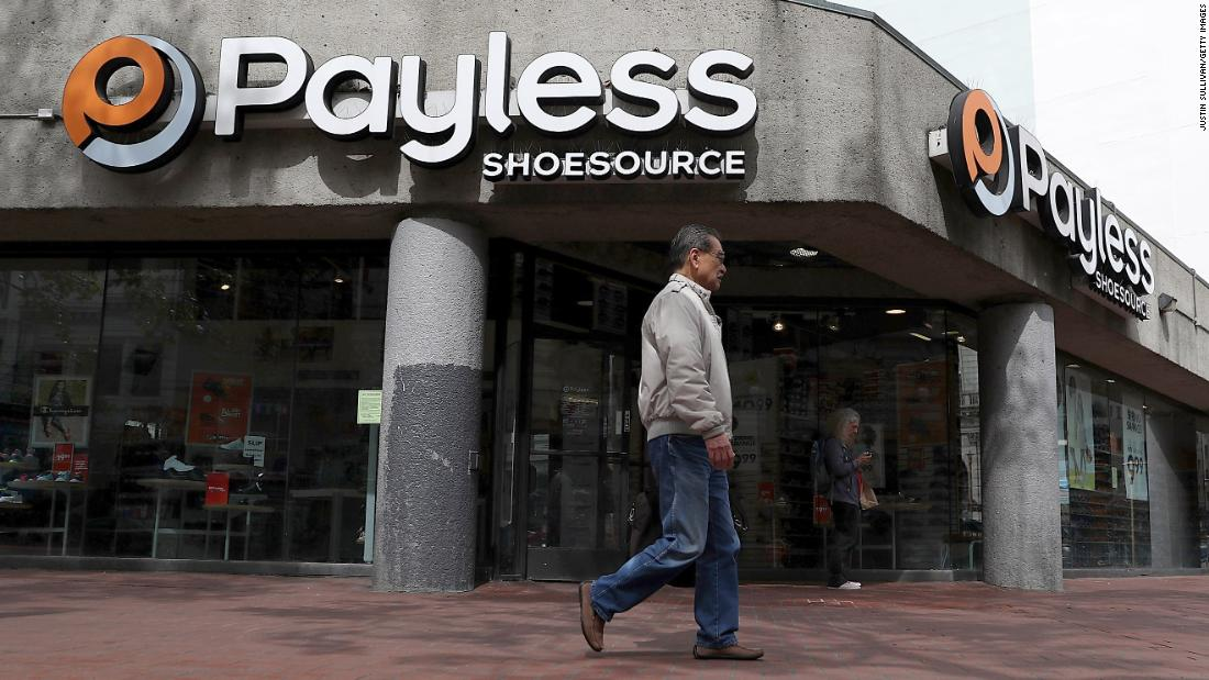 9857f0ab0 Payless is closing all its 2