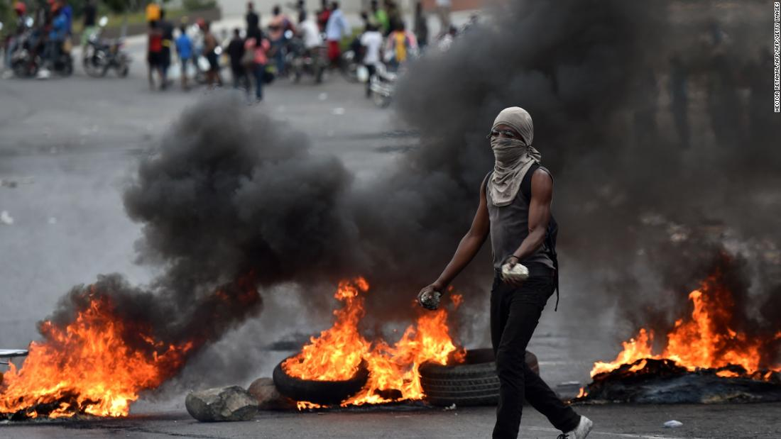 Missionaries and nurses trapped in Haiti as protests sweep country