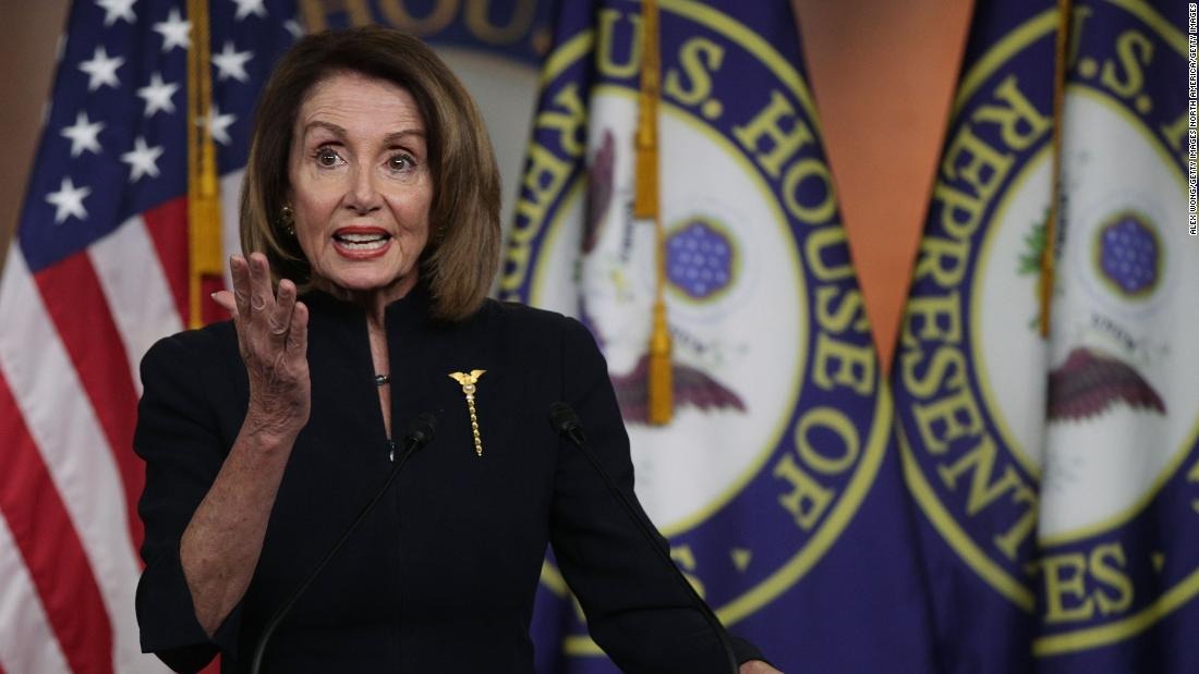 Pelosi urges members of Congress to back resolution ending national emergency