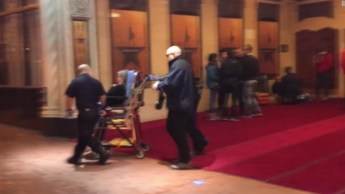3 injured when panicked audience flees 'Hamilton' in San Francisco