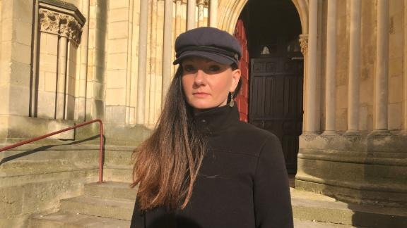 Liene Moreau, from Lithuania, says the abuse began while she was a trainee nun with the St. John community in France.