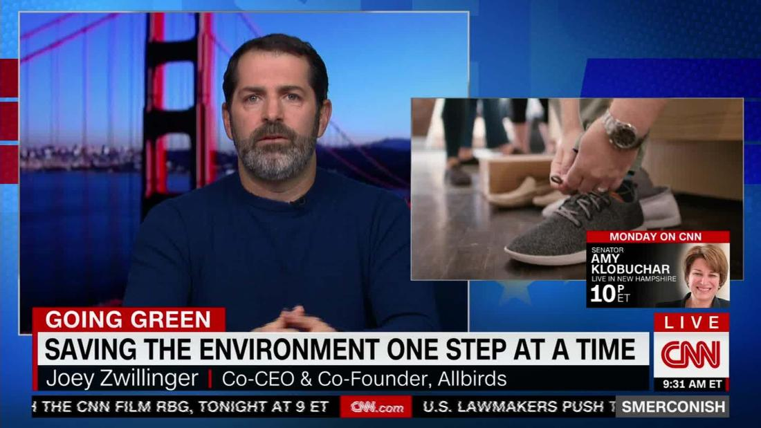 Using capitalism to sell shoes and save the earth