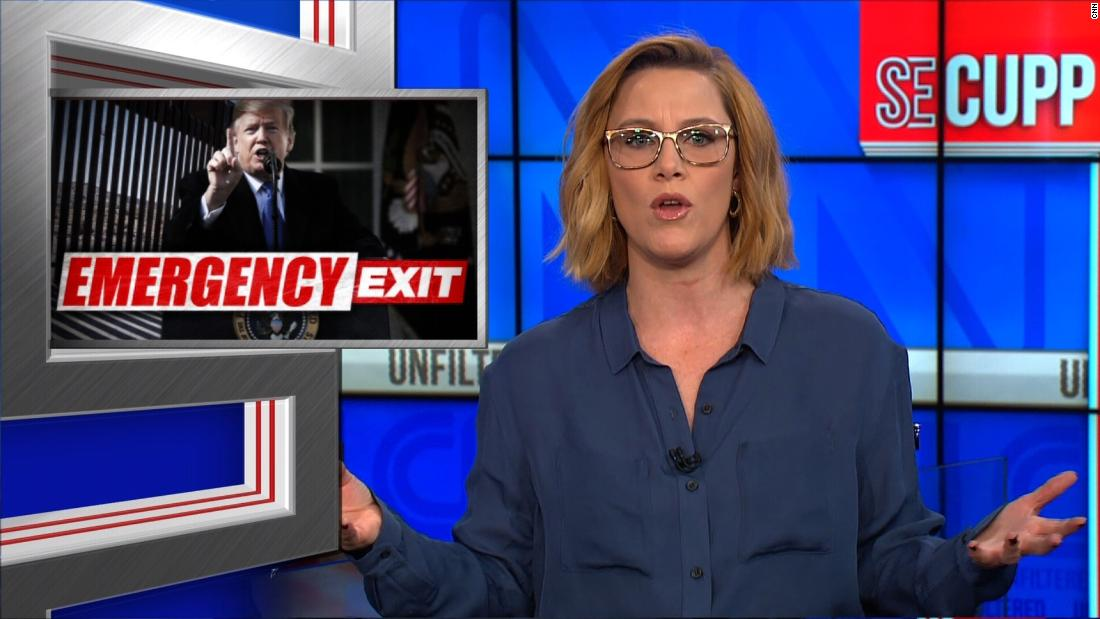 SE Cupp: What you saw is a presidential temper tantrum