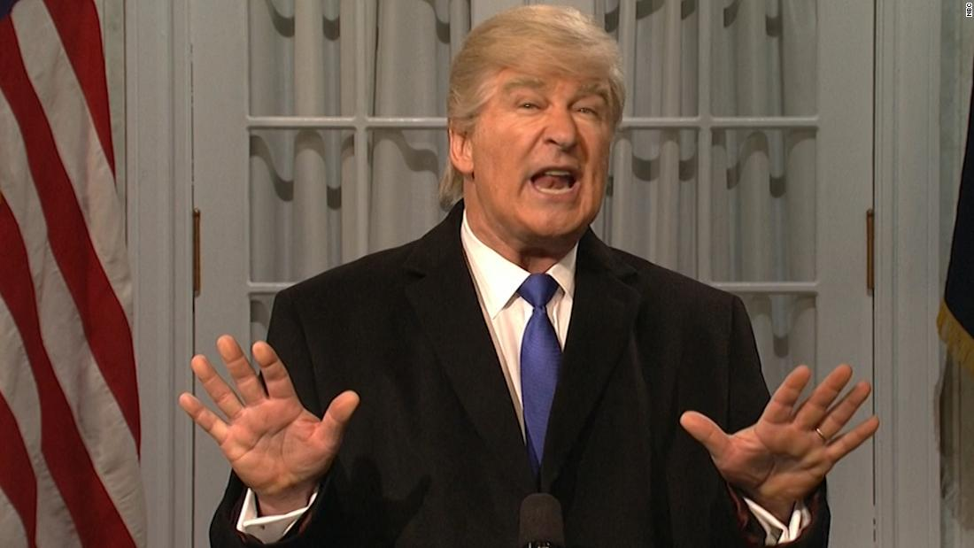 Alec Baldwin suggests Trump's latest attack on 'SNL' could be 'a threat to my safety'