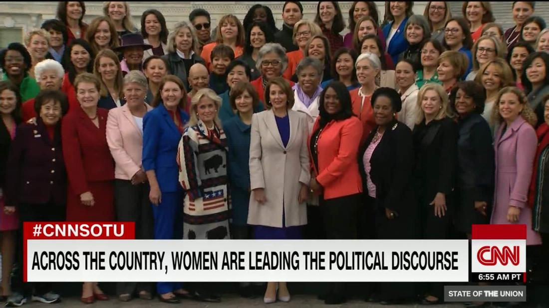 Women no longer the exception in halls of power