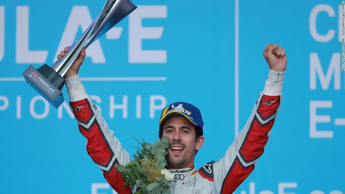 Lucas di Grassi wins Mexico E Prix as race leader's battery dies on the line