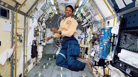 Mae Jemison is an engineer, physician and NASA astronaut. She became the first African-American woman to travel into space in 1992.