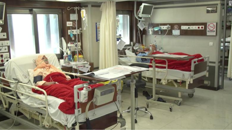 Families in Iran are struggling to afford medical attention.