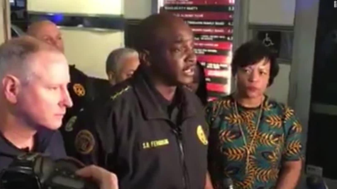 Five bystanders shot during police shootout in New Orleans