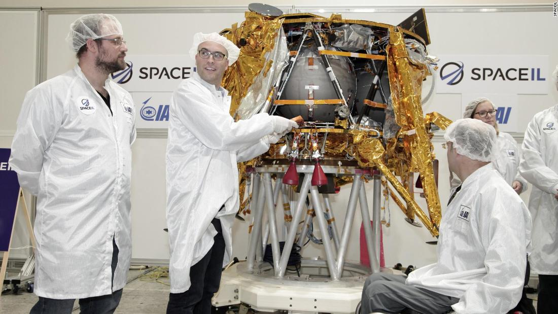 Israel shoots for the moon with privately funded spacecraft