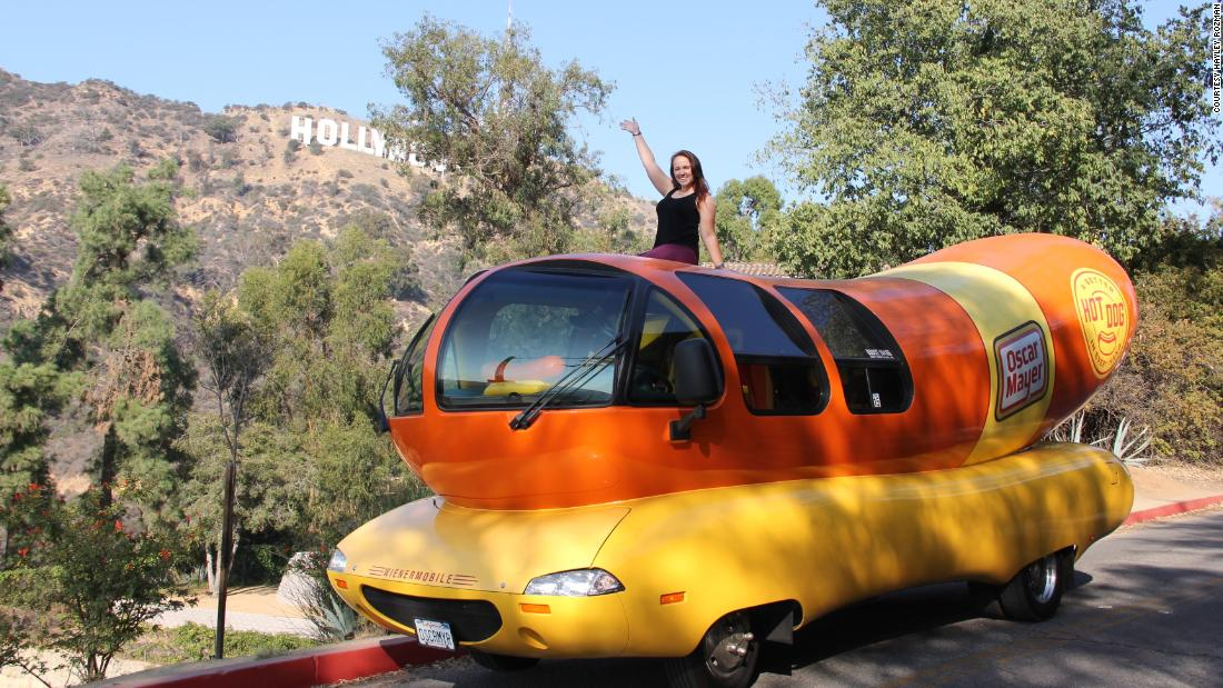 Wienermobile: Drive a hot dog, see the country