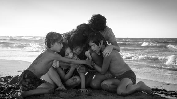 """The cast of Alfonso Cuarón's Neflix film """"Roma."""""""