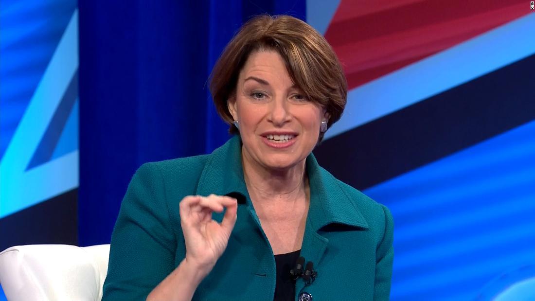 Amy Klobuchar's novel pitch for the Democratic nomination: Pragmatism