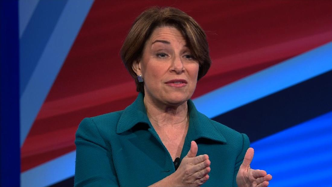 This is the question Klobuchar says she'd ask Trump