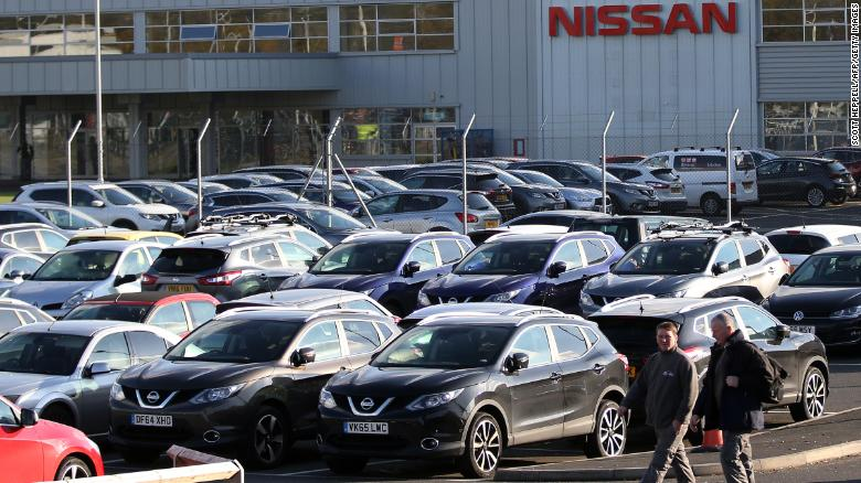 Nissan is scrapping plans to build a new SUV model in northern England, citing Brexit as a major factor.