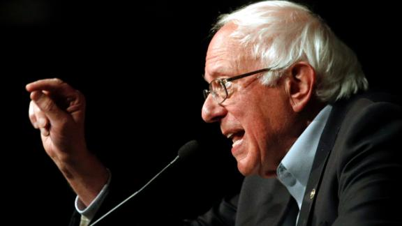 In this Oct. 30, 2018 file photo, Sen. Bernie Sanders, I-Vt., speaks in support of Maryland Democratic gubernatorial candidate Ben Jealous at a campaign rally in Bethesda, Md. Sanders' re-election to a third term in the Senate and his consideration of a 2020 run for the presidency ranked among Vermont's top stories in 2018.